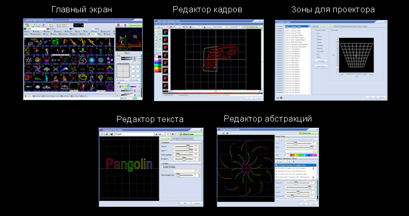 Pnagolin Quick Show Screens
